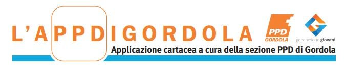 PPD sezione di Gordola - Generazioni Giovani Gordola - SosteniAMO Gordola